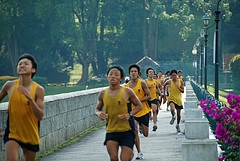 running-marathon-men-Chinese-exercise