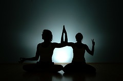 yoga-two-people-silhouette-stretching-cooperation